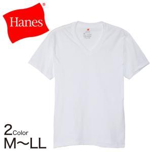 ヘインズ X-TEMP 温度調節 メンズ Vネック 半袖Tシャツ M〜LL (メンズ 男性 紳士 Hanes 下着 肌着) (在庫限り) suteteko