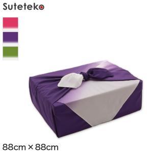 風呂敷 二四巾 約88cm×88cm (約 90cm 無地 紫 ふろしき ナイロン 二四幅 にしはば...