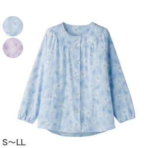 婦人 大きめボタンパジャマ(上衣) S〜LL (レディース 上着)(送料無料) (取寄せ)|suteteko