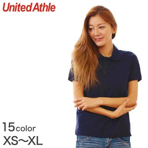レディース 5.3オンス ドライカノコポロシャツ XS〜XL (United Athle レディース アウター シャツ カラー) (取寄せ)|suteteko
