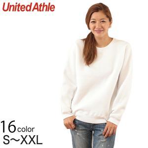 レディース 10.0オンス T/Cクルーネックスウェット S〜XXL (United Athle レディース アウター スウェット カラー) (取寄せ)|suteteko