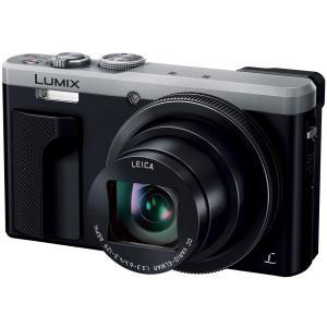 パナソニック デジタルカメラ LUMIX DMC-TZ85-S シルバー...