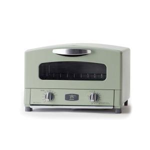 【ポイント3倍】Aladdin アラジン グラファイト トースター(オーブントースター)[グリーン/2枚焼き] CAT-GS13A(G)