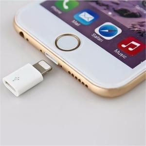 【送料無料】Micro USB → Lightning iPhone 8pinオス 変換コネクタ マイクロUSB/Lightning【代引不可】 suwako-mall