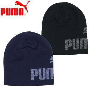新作  PUMA 子供用 プーマ キッズ エッセンシャル ロゴ ビーニー JR ニット帽 YT(55.5cm)|suxel