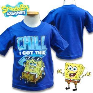 子供服 SPONGE BOB スポンジボブキッズ 半袖 Tシャツ US2T 80-90cm US3T 90-100cm  |suxel