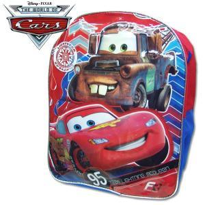 Cars カーズ リュックサック  子供用 ミディアム 遠足用かばん 幅30.5cm×高さ38.5cm×マチ12.5cm|suxel
