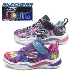 新作 光る SKECHERS スケッチャーズ スニーカー ガールズ S Lights: Power Petals - Flowerspark  子供靴|suxel