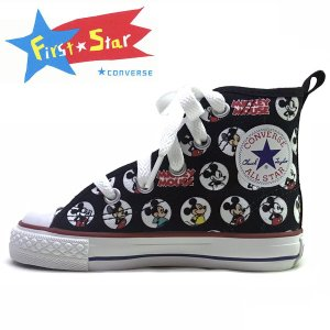 19cm  22cmCONVERSE コンバース チャイルド オールスター N ミッキーマウス HM Z HI CHILD ALL STAR N MICKEY MOUSE HM Z HI|suxel
