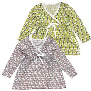 90-130cm 子供服 チュニック 女の子 PLEASE ONE ・ プリーズワン キリン総柄 チュニック  |suxel