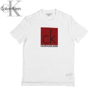 Calvin Klein カルバンクライン BOXED CK CALVIN KLEIN TEE 半袖 ボックス ロゴ Tシャツ|suxel