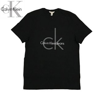 Calvin Klein カルバンクライン CLASSIC CK LOGO CREW TEE 半袖 クラッシック ロゴ Tシャツ|suxel