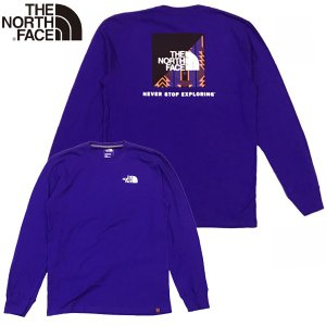 The North Face ザ・ノース・フェイス RANGE TNF L/S RED BOX TEE 長袖 ロンTee|suxel