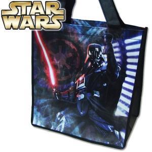子供 Star Wars スターウォーズ ミディアム エコバッグ 鞄/カバン/BAG/バッグ/ギフト/お誕生日プレゼント/ラッピング 幅33cm×高さ33.5cm×マチ17cm|suxel