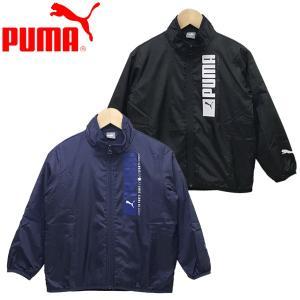 新作 Puma  プーマ キッズ ジュニア 子供服 男の子 トリコット ライニング ウーブンジャケット 長袖|suxel