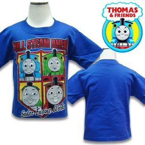 子供服 THOMAS トーマスキッズ 半袖 Tシャツ US2T 80-90cm US4T 100-110cm  |suxel