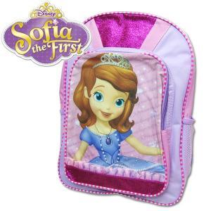 子供 Sofia the First ちいさなプリンセス ソフィア ラージ キッズ リュックサック バックパック  幅30cm×高さ40.5cm×マチ12cm|suxel