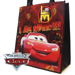 CARS カーズ マックイーン エコバッグ ラージ 幅34.5cm×高さ39cm×マチ17cm|suxel