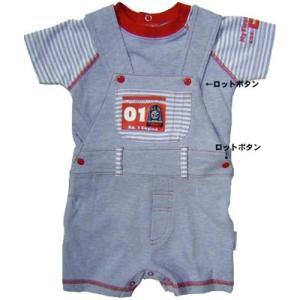 子供服 THOMAS トーマス ベビー オーバーオール&Tシャツセット 管理番号5800|suxel