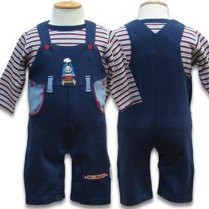子供服 THOMAS トーマスベビー オーバーオール&キッズ ロンT セット2枚セット 管理:5,400-|suxel