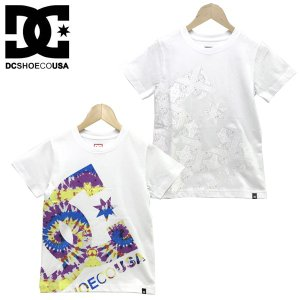 130-160cm  DC SHOES ディーシー 子供服 キッズ ジュニア プリント ビッグ スター 半袖 Tシャツ  19 KD PRINT BIG STAR SS|suxel