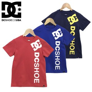 130-160cm  DC SHOES ディーシー 子供服 キッズ ジュニア バーティカル 半袖 Tシャツ  19 KD VERTICAL SS|suxel