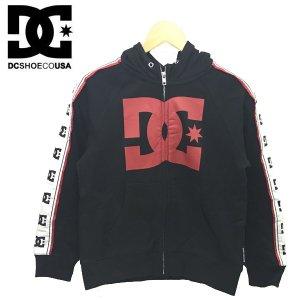 130-150cm DC SHOES ディーシー 子供服 キッズ ジュニア フルジップフーディ  18KD RUNNERHIGH ZH|suxel