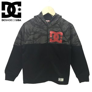 130-150cm DC SHOES ディーシー 子供服 キッズ ジュニア フルジップフーディ  18KD CAPABLE ZH|suxel