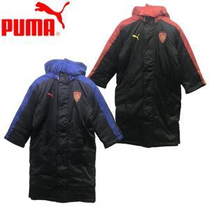 Puma プーマ  品 名:キッズ 裏ボア使いのベンチコート 品 番:754299 カラー:01 プ...