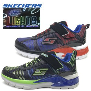 新作 光る SKECHERS スケッチャーズ スニーカー ボーイズ ERUPTERS II LAVA WAVE 子供靴 17-23cm|suxel