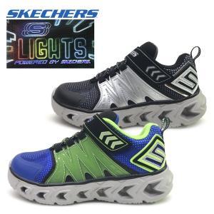 新作 光る SKECHERS スケッチャーズ スニーカー ボーイズ HYPNO-FLASH 2.0 子供靴 17-23cm|suxel
