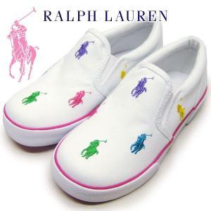 ポロラルフローレン Polo by Ralph Lauren キッズ スニーカー BAL HARBOUR REPEAT CHILD 子供靴 18〜20cm suxel