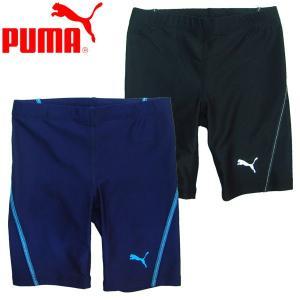 スクール水着 PUMA 子供服 プーマ ジュニア ロング スイム パンツ スイミングスクール|suxel