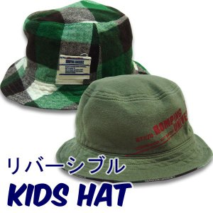 帽子 日本製 shapoxボウシ キッズ 帽子 リバーシブルハット suxel