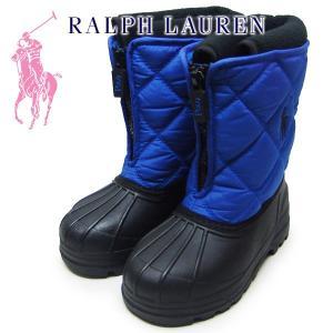 ポロラルフローレン キッズ  スノーブーツ ブルー Polo by Ralph Lauren VANCOUVER ZIP TODDLER suxel