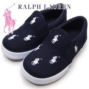 ポロラルフローレン キッズ スニーカー Polo by Ralph Lauren BAL HARBOUR REPEAT TODDLER suxel