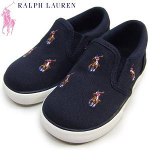 ポロラルフローレン キッズ スニーカー Polo by Ralph Lauren BAL HARBOUR REPEAT MULTI PONY TODDLER suxel