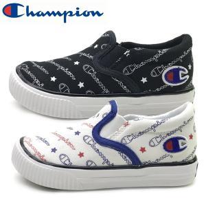 新作  Champion チャンピオン キッズ ジュニア 軽量 スニーカー 子供靴 キッズ センターコート SLIP 15-22cm|suxel
