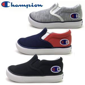 継続  Champion チャンピオン キッズ ジュニア 軽量 スニーカー 子供靴 キッズ センターコート SLIP 15-22cm|suxel
