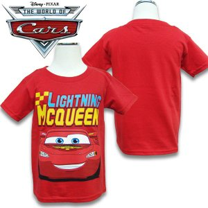CARS カーズ半袖 キッズ Tシャツ US2T(80-90cm) 3T(90-100cm) 4T(100-110cm) 5T(110-120cm)  |suxel