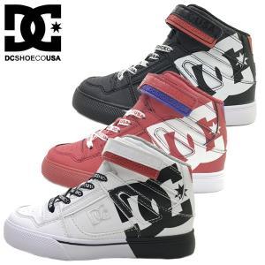 新作  DC SHOES ディーシー キッズ ジュニア ハイカット スニーカー 子供靴 KS PURE HIGH-TOP SE EV SN (17-24cm)|suxel