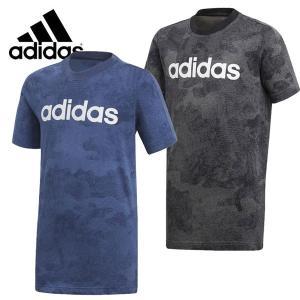 120cm adidas アディダス B ESS リニアロゴ Tシャツ CAMO 半袖|suxel