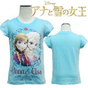 子供 アナ雪  子供服 女の子  半袖 Tシャツ US2T 80-90cm US3T 90-100cm  |suxel