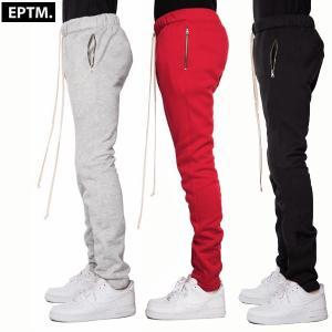 メンズ EPTM エピトミ フリース ジッパー付 パンツ FLEECE ZIPPER PANTS 3カラー|suxel