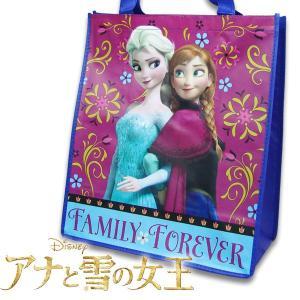 アナと雪の女王 幅34.5cm×高さ39cm×マチ17cm FROZEN Disney ディズニー ラージエコバッグ カバン BAG バッグ ギフト お誕生日 女の子|suxel