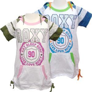 100-120cm ROXY ロキシー キッズ/ジュニアMINI OUR SONG パーカー ワンピおしゃれなキッズガールの子供服です suxel