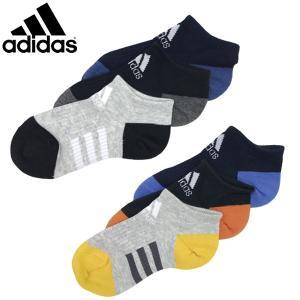 新作 adidas アディダス キッズ くつ下 3P アンクルソックス 19-21cm 21-23cm    |suxel
