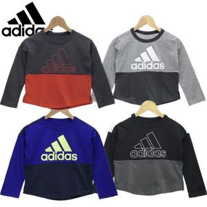 新作 adidas アディダス  ジュニア キッズ 長袖 Tシャツ B MH BOS|suxel