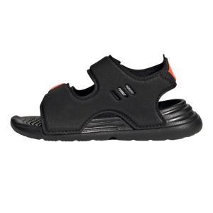 新作 アディダス adidas ベビー キッズ サンダル SWIM SANDAL I コアブラック 12-16cm 速乾性の高い軽量サンダルです|suxel