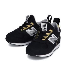 新作 ニューバランス New Balance ベビー スニーカー IT996SKG BLACK/GOLD 14〜15cm 心地よい軽量性と屈曲性、耐久性で子どもたちを快適にサポート|suxel